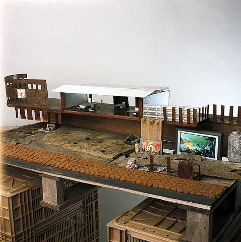Urbanité par défaut - Galerie RX, Paris © Marina Rosselle